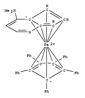 iron chemical structure
