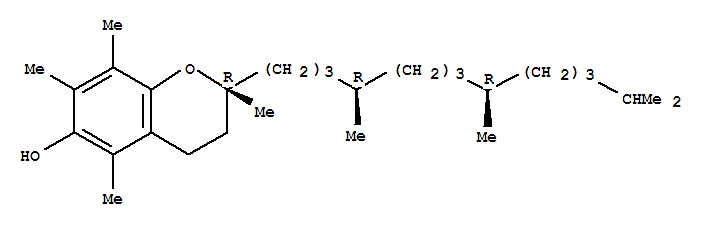 2H-1-Benzopyran-6-ol,3,4-dihydro-2,5,7,8-tetramethyl-2-(4,8,12-trimethyltridecyl)-,[2R-[2R*(4R*,8R*)]]-