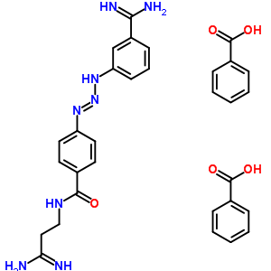 分子结构 of 18602-39-6 (n-[(3z)-3-amino-3-iminopropyl]-4-[(1e)-3